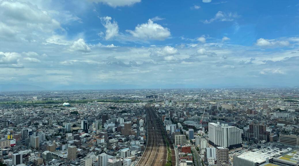 株式会社ワークスペース 名古屋オフィスからの眺望